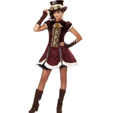 Lil' Steampunk Costume for Girl's](Steampunk Burlesque Costumes)