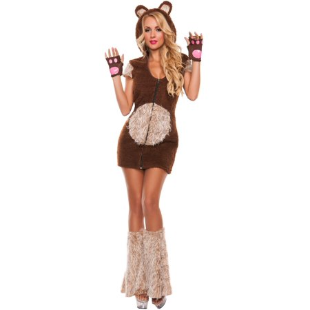 Cuddle Me Bear Sexy Womens Costume](Mens Care Bear Costume)
