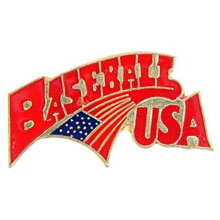 Baseball USA Pin 1