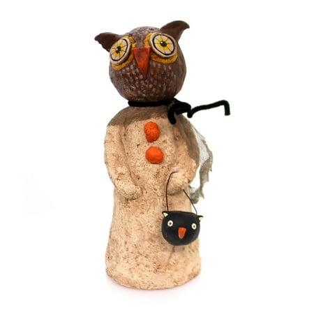 Halloween OLIVER THE OWL Polyresin Hammerschmidt - Halloween Owl Printables