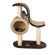 Trixie Pet Products Nerja Scratching Wave, Chocolate Brown/Beige