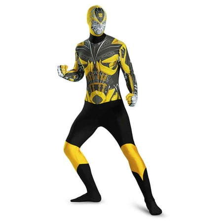 Adult Transformers Bumblebee Bodysuit Costume by Disguise 73548 (Adult Transformer Costumes)
