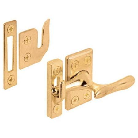 Brass Window Lock Casement Fastener - 171857 Casement Window Sash Lock, Brass Plated