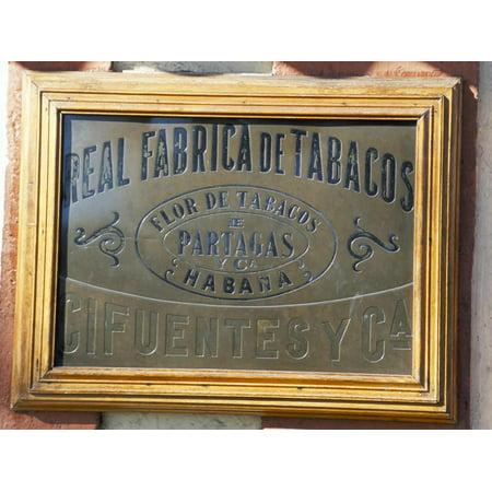 Real Fabrica De Tabacos Partagas, Cuba's Best Cigar Factory, Havana, Cuba Print Wall Art By R H