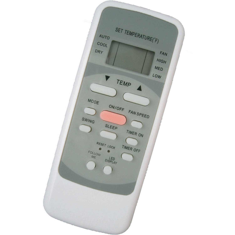 low priced 758ba aedbe Keystone KSTAP14B 14000 BTU 115 Volt Portable Air Conditioner with Follow  Me Temperature Sensing Remote - Walmart.com