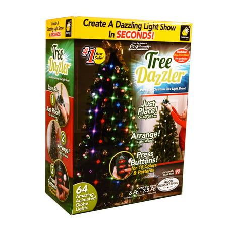 tree dazzler as seen on tvshark tank christmas led lights plastic