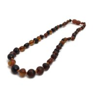 12.5 Inch Baltic Amber Teething Necklace Basic Baby Toddler