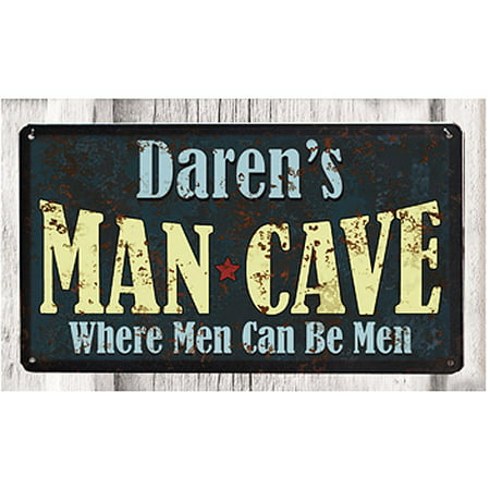 Personalized Metal Sign  Man Cave