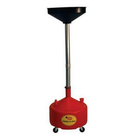 John Dow Industries 8DCP 8-Gallon Poly Portable Oil Drain