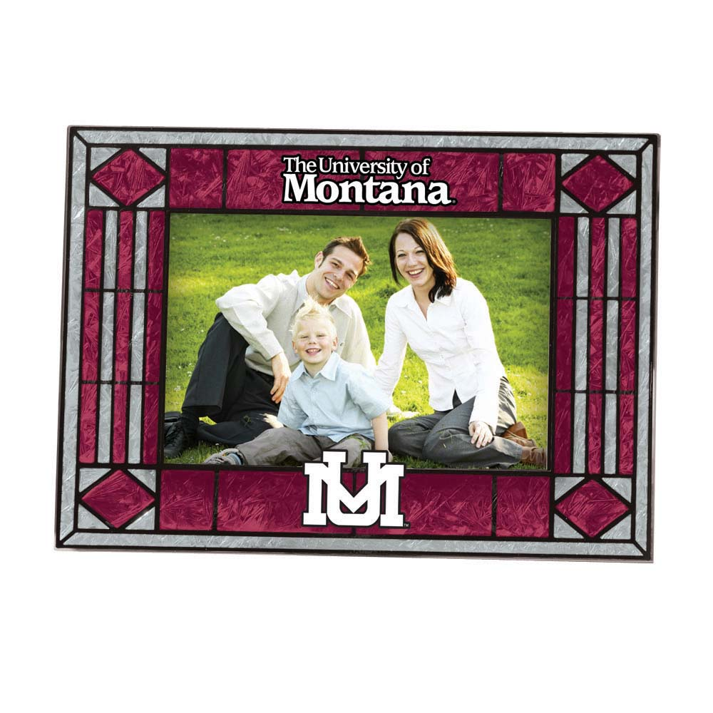 Montana Landscape Art Glass Picture Frame