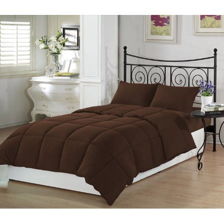 mocha brown premium xl twin comforter set twin extra long. Black Bedroom Furniture Sets. Home Design Ideas