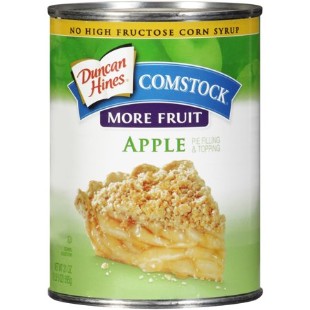 (3 Pack) Duncan Hines Comstock More Fruit Apple Pie Filling & Topping 21
