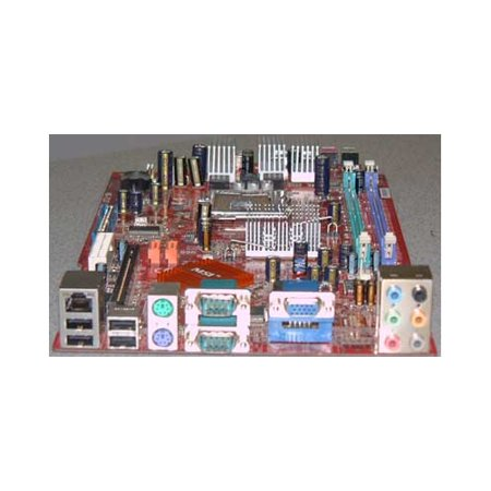 (Refurbished-Microstar / MSI MS-7137 Hetis motherboard. MS-7137. On-Board six channel audio, video, 2 x serial ports, LAN, USB. MS-6289 Hetis motherboard. Version 1.31)