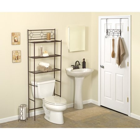 Zenith diamond bbhb75 bath in a box oil rubbed bronze for Chapter bathroom space saver white assembly instructions