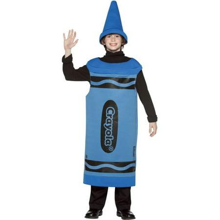 Morris costumes GC451003 Crayola Cost Blue Tween 10-12](Halloween Cost)
