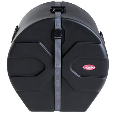 Bass Drum Case Bass - SKB Cases 1SKB-DM1422 Molded Case For 14 X 22 Marching Bass Drums 1SKBdm1422 New
