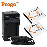 Power Pack: (Two Progo Brand Li_ion Rechargeable Battery ...