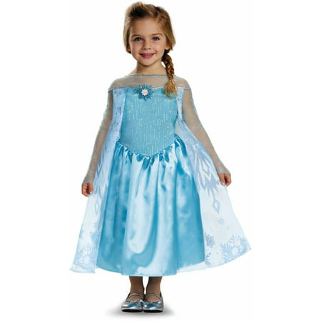 Frozen Elsa Classic Toddler Halloween Costume - Peacock Toddler Costume