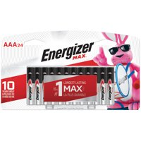 Energizer MAX Alkaline, AAA Batteries, 24 Pack