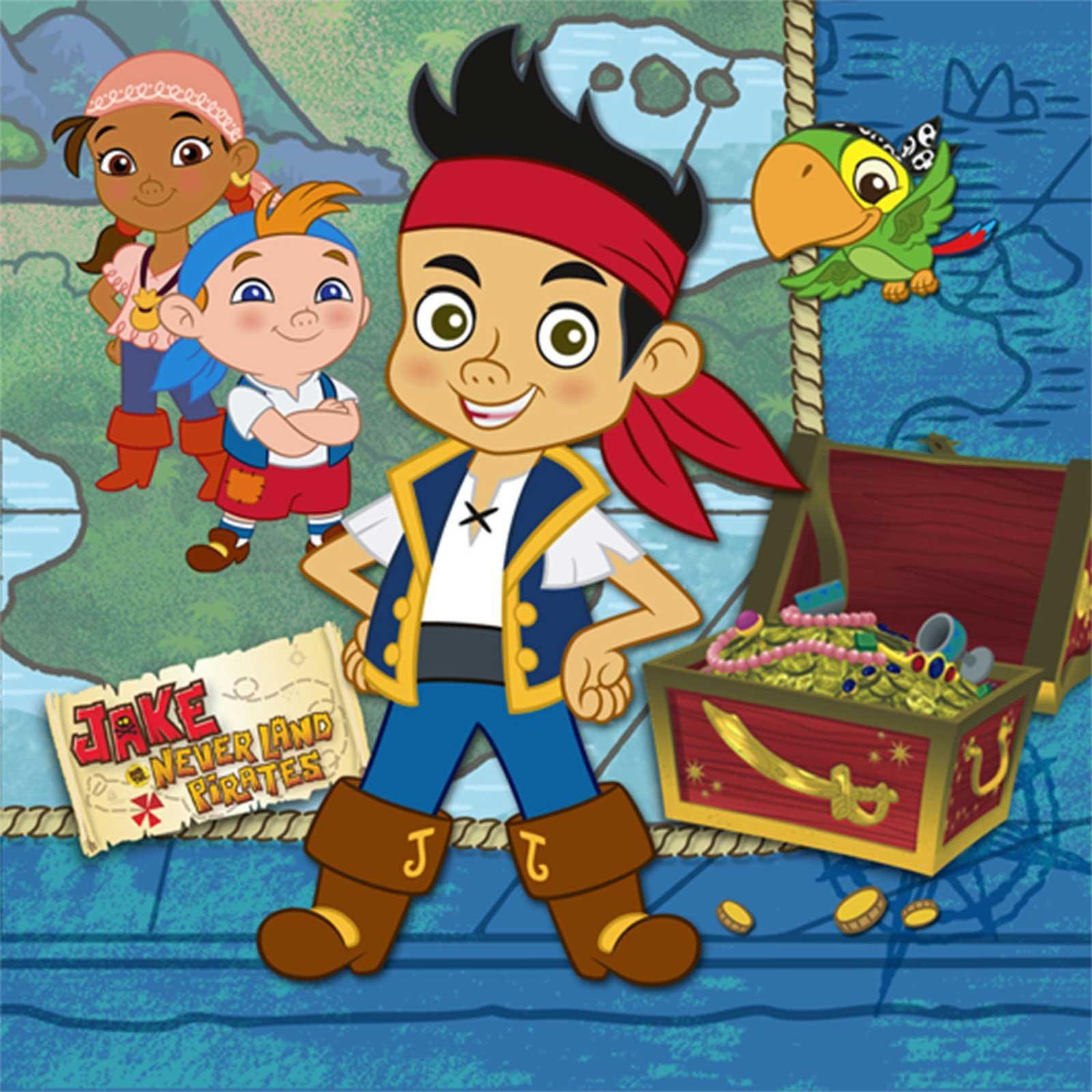 Disney Jake and the Never Land Pirates Beverage Napkins