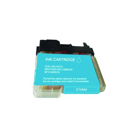 Compatible Brother LC65C Cyan Inkjet Cartridge by Superink - image 1 de 1