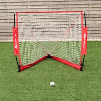4' Portable Lacrosse Goal Net for Backyard Shooting In/Outdoor Use w/ Carry Bag