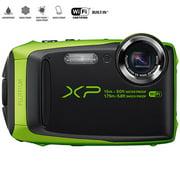 "Fujifilm FinePix XP90 16 MP Waterproof Digital Camera with 3"" LCD 16500208B (Green) - (Certified Refurbished)"