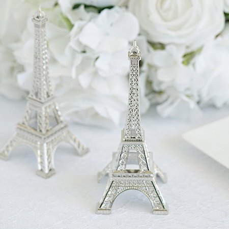 BalsaCircle 6 inch Eiffel Tower Centerpiece - Party Wedding Home Dinner Table Kids Room Decorations ()