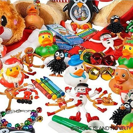 Rhode Island Novelty Christmas Assortment Toys (50 Piece) ()