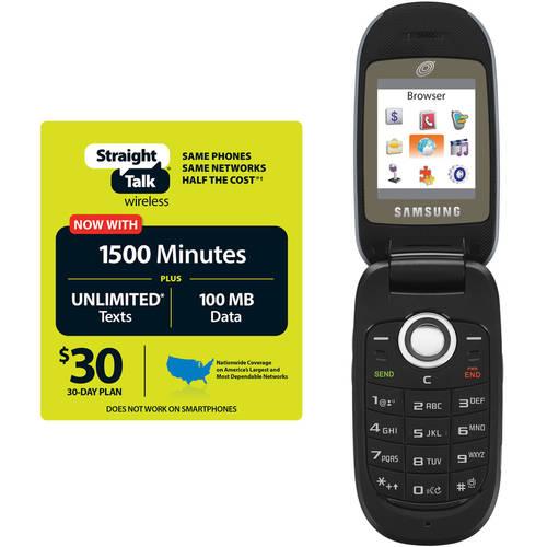 Straight Talk Samsung R335c Plus $30 All