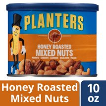 Nuts & Seeds: Planters Honey Roasted Mixed Nuts