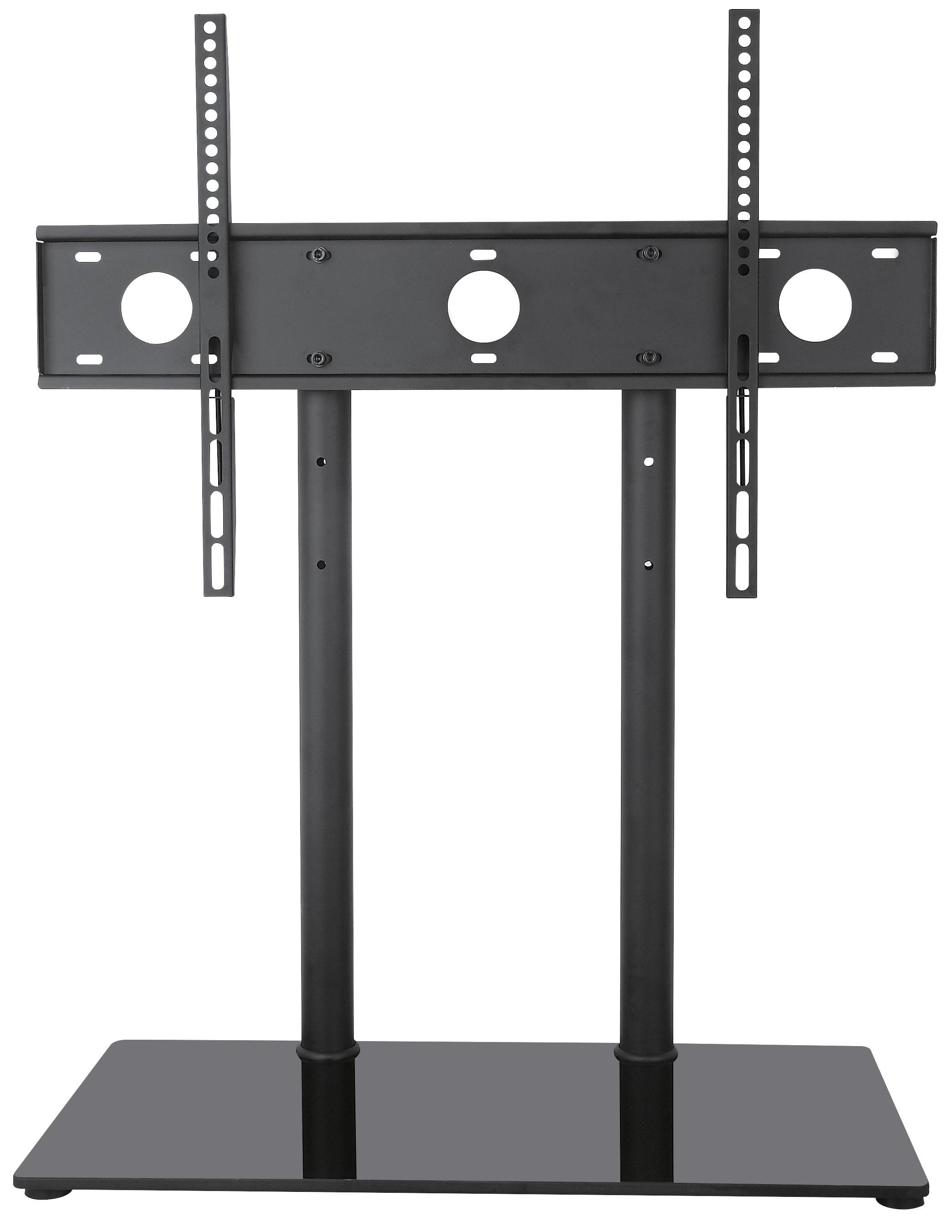 Vivo Universal Economic Lcd Flat Screen Tv Table Top Stand W Glass