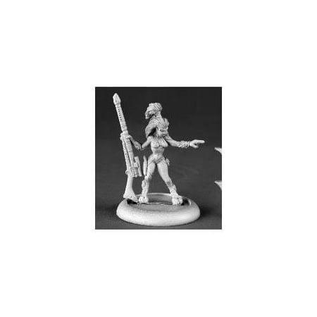 Reaper Miniatures Female Andromedain Hunter #50136 Chronoscope RPG Mini Figure