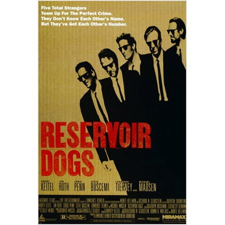 Quentin Tarantino'S Reservoir Dogs Movie Poster Harvey Keitel Tim Roth 24X36 (David Lee Roth Poster)