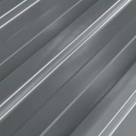 HERCHR Roof Panels 12 pcs Galvanized Steel Gray
