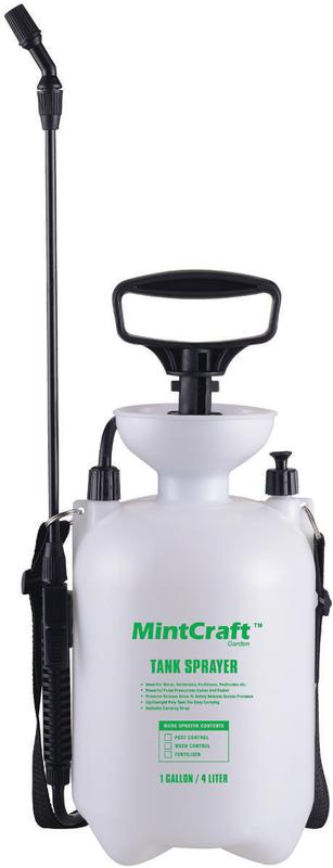 Landscapers Select General-Purpose Pressure Sprayer, 4 L, Adjustable by Mintcraft