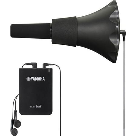 Yamaha SB5X-2 SILENT Brass System for Tenor Trombone w/ Pickup Mute and Personal Studio (Silent Brass Mute Only)