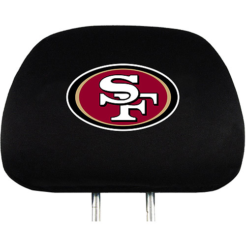 San Francisco 49ers NFL Head Rest Cover