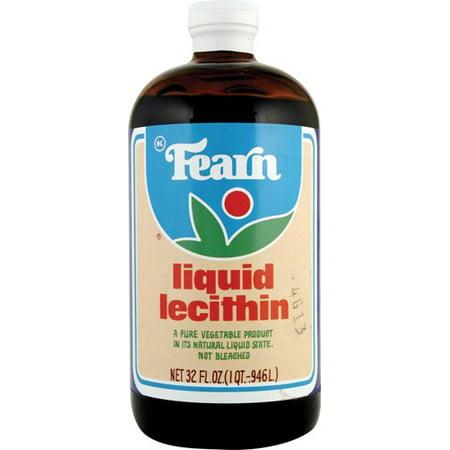 Fearns Soya Food Liquid Lecithin 32 Ounce