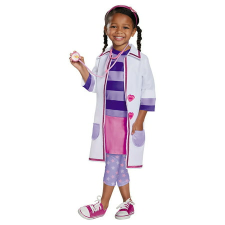 Doc McStuffins Toy Hospital Deluxe Toddler Costume - Toddler Large