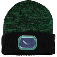 Vancouver Canucks Fanatics Branded Space Dye Cuffed Knit Hat - Green - OSFA