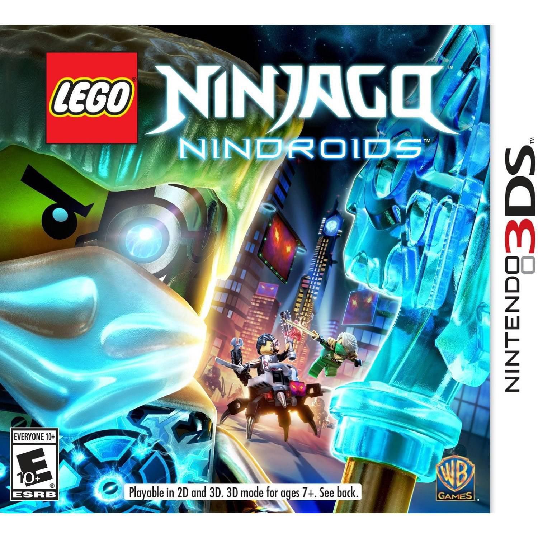 LEGO Ninjago Nindroids, Warner Bros, Nintendo 3DS, 883929418879