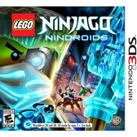 LEGO Ninjago Nindroids, Warner Bros, Nintendo 3DS, 883929418879 (Brain Age Nintendo 3ds)
