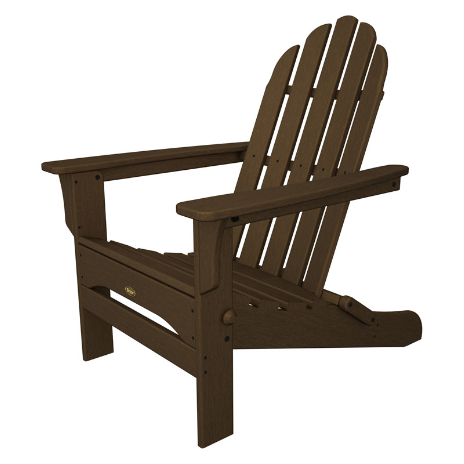 Trex Outdoor Furniture Recycled Plastic Cape Cod Folding Adirondack Chair by Trex Outdoor