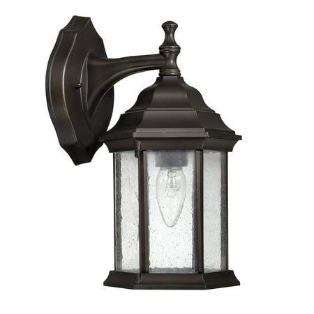 Main Street Collection 1-light Old Bronze Outdoor Wall Lantern