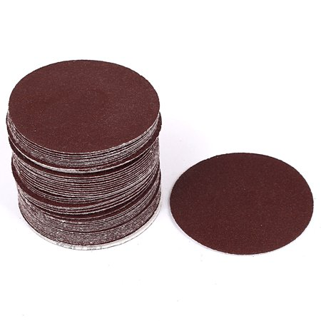 """3"""""""" Diamètre 100 poussiére abrasifs polissage pon age velcro disques papier 50 pcs - image 3 de 3"""