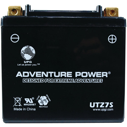 UPG 42010 UTZ7S, Sealed AGM Power Sports Battery