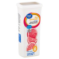 (18 Packets) Great Value Pink Lemonade Sugar-Free Drink Mix