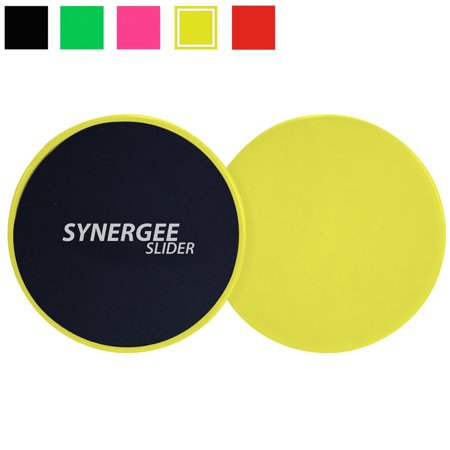 Synergee Core Sliders - Dual Sided for Use on Carpet or Hardwood