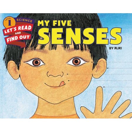 My Five Senses (Let's-Read-and-Find-Out Science, Level 1) - image 1 de 1
